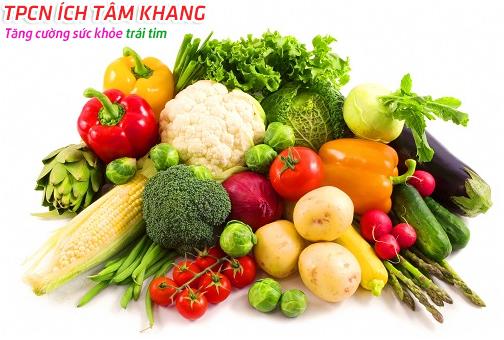 Ngăn ngừa thiếu máu cơ tim với chế độ ăn uống lành mạnh