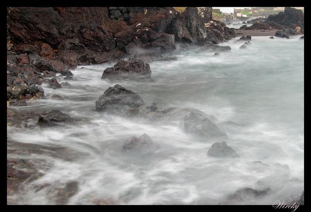 La ola. Foto de 3 segundos
