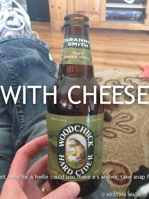 Cider Test - 6 Woodchuck Green Apple