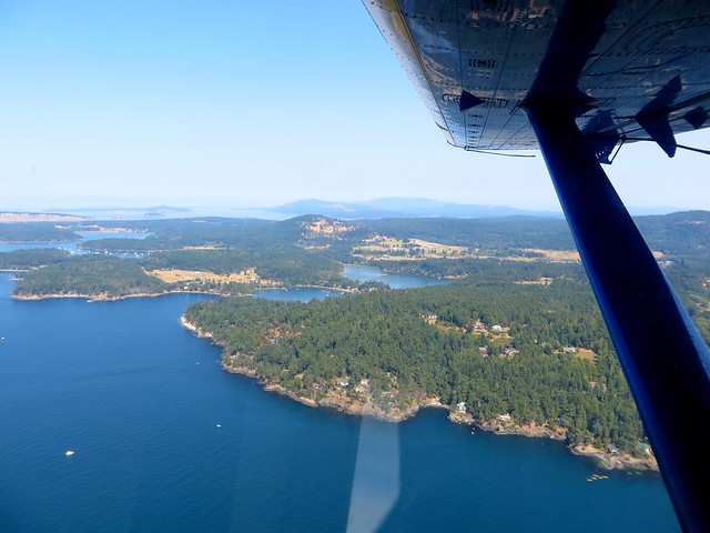 sea plane to san juan islands