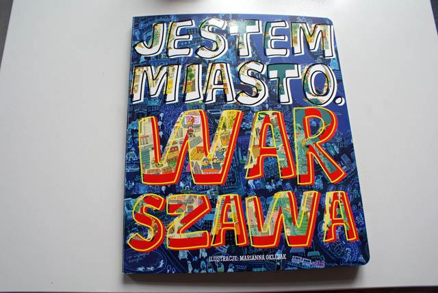 """Couverture du livre """"Jestem Warszawa"""""""