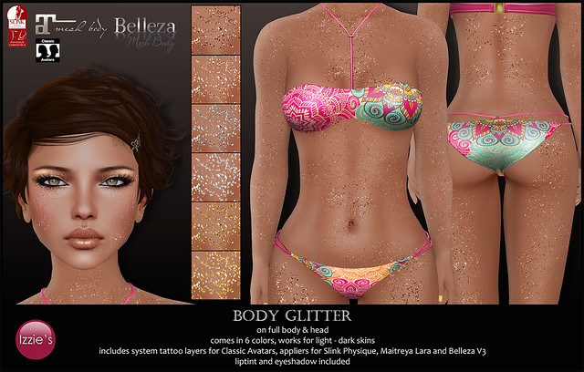 Body Glitter (for Mix Event)