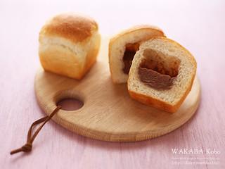 チョコクリームミニ食パン 20150821-IMG_1722