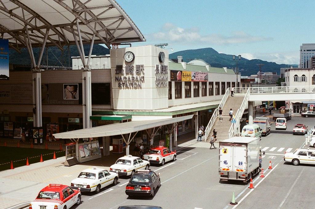 長崎 Nagasaki 2015/09/07 出來外面的天橋。  Nikon FM2 / 50mm Kodak UltraMax ISO400 Photo by Toomore