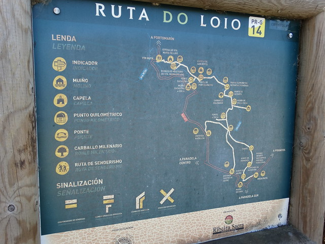 Panel PR-G 14 Ruta do Loio