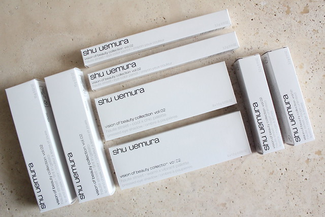 Shu Uemura fall 2015 Vision of Beauty Haute Street review and swatches