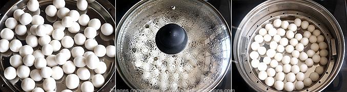 How to make Spicy Ammini Kozhukattai - Step3