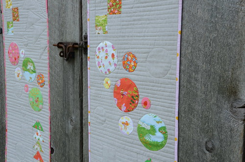 Stepping Stones Table Runners by Poppyprint