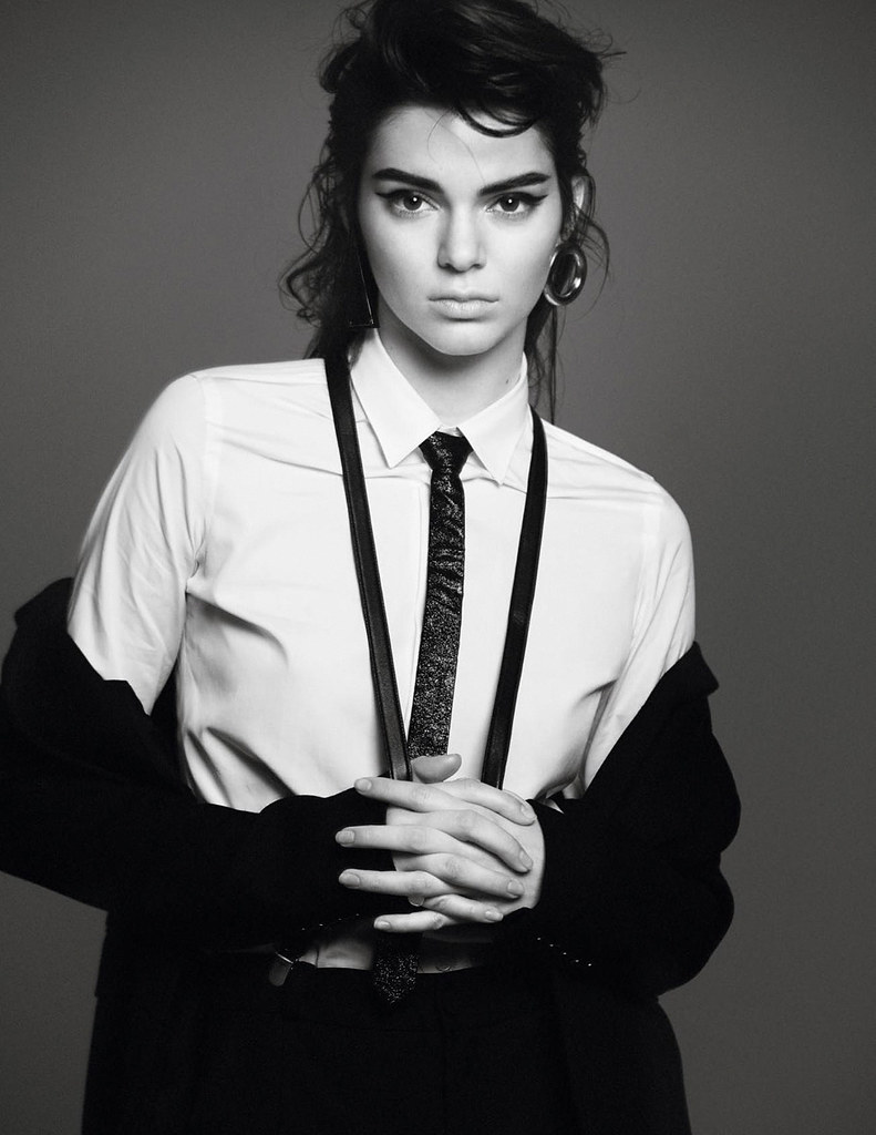 Кендалл Дженнер — Фотосессия для «Vogue» FR 2015 – 10