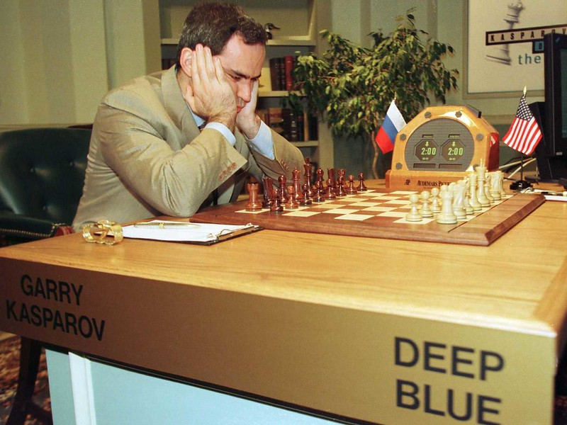 Deep Blue versus Kasparov chess match
