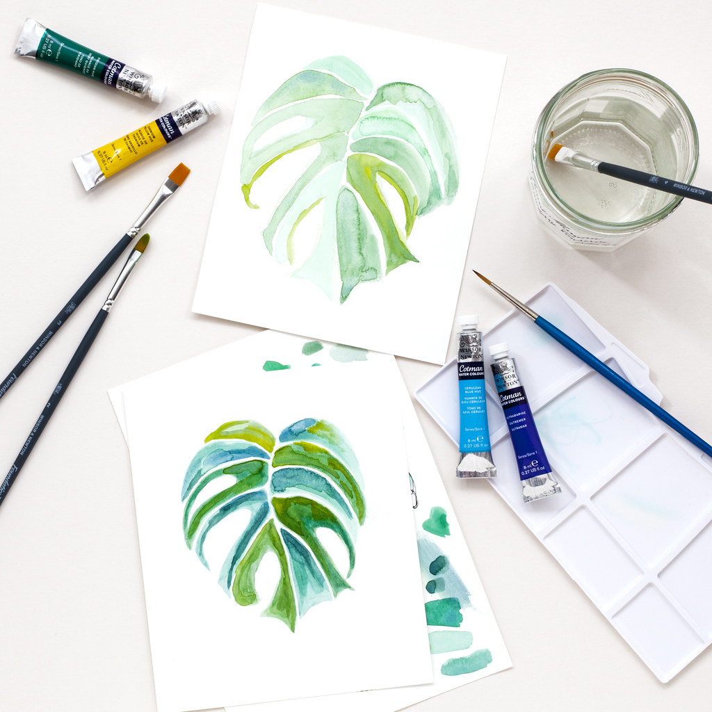 How to Slow Down with Watercolours | candypop.uk.com