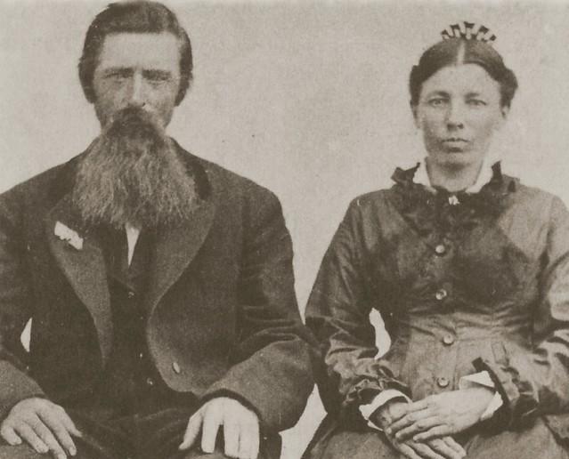 Charles Ingalls and Caroline Quiner