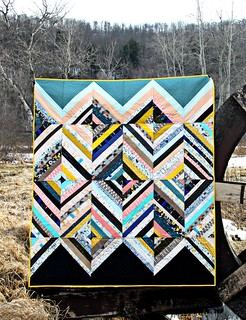 New Diamond Strings Quilt