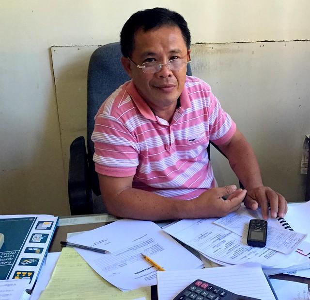 Llorente Municipal Treasurer Jesse D. Contado