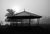 Misty Bandstand by pennywhistlestop