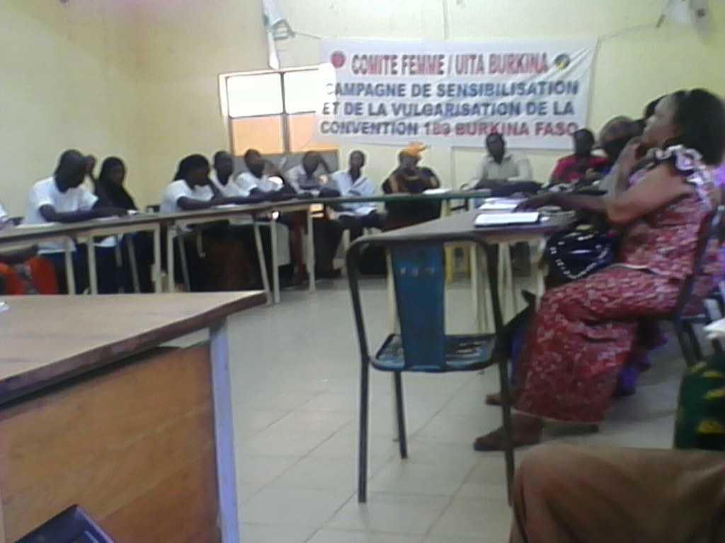 2015-10-10 Burkina Faso: Workshop on C189 for domestic workers
