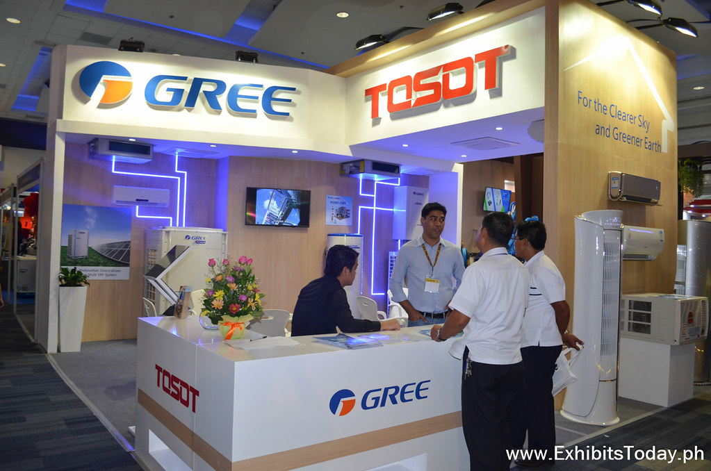 Gree and Tost Trade Show Display