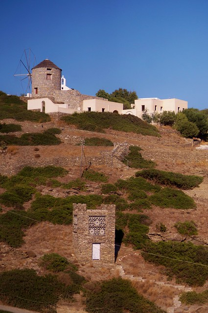 Schinoussa - Chora - moulin 1