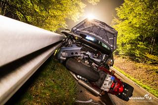 Tödlicher Motorradunfall L3319 18.10.15