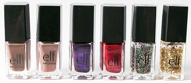 (32)smokybrown,taupeoftheworld,violetvelvet,red-yornot,chicconfetti,goldstar