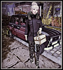 Luxe Paris complete outfit - jacket,booties,pants -