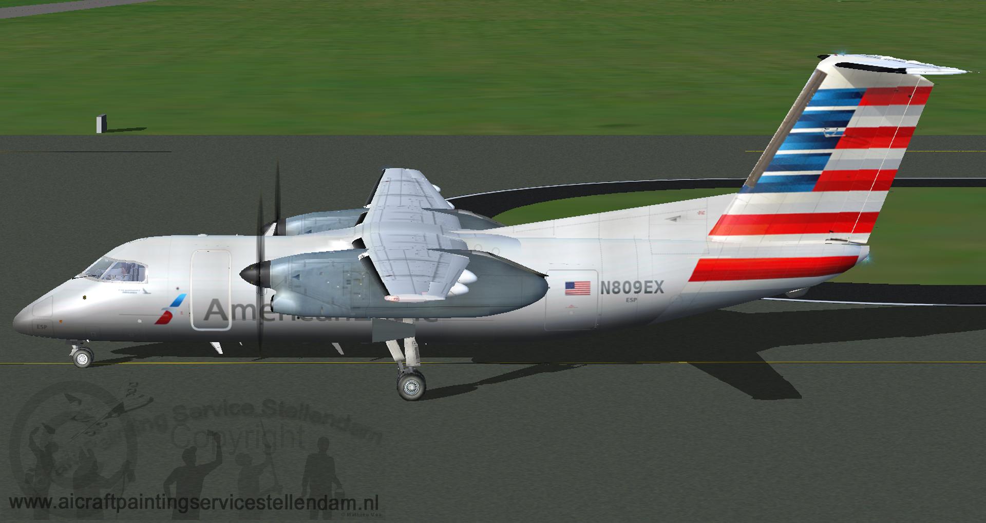 DreamwingsDash-8Q-100_AmericanEagle_N809EX2