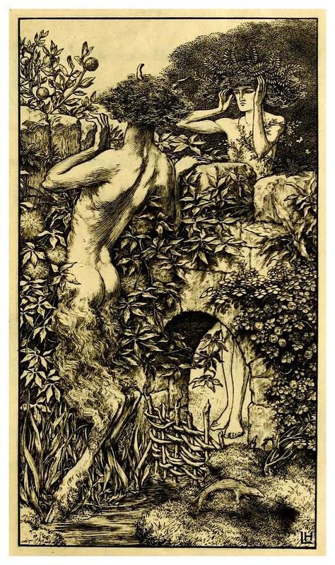 003-The sensitive plant-1899- ilustrado por Laurence Housman