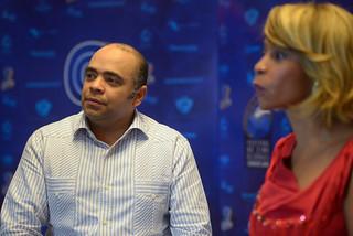 Omar de la Cruz en el Programa A Imagen con Aleja Flores. Blue Mall-6