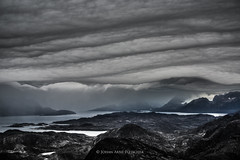 Storm clouds - West Greenland