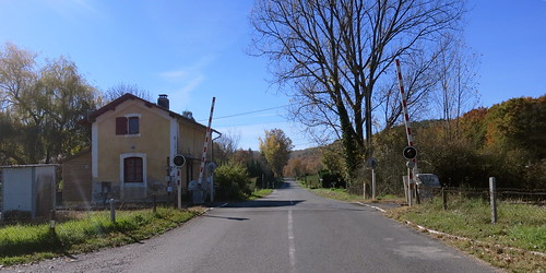 Railroad crossing in France