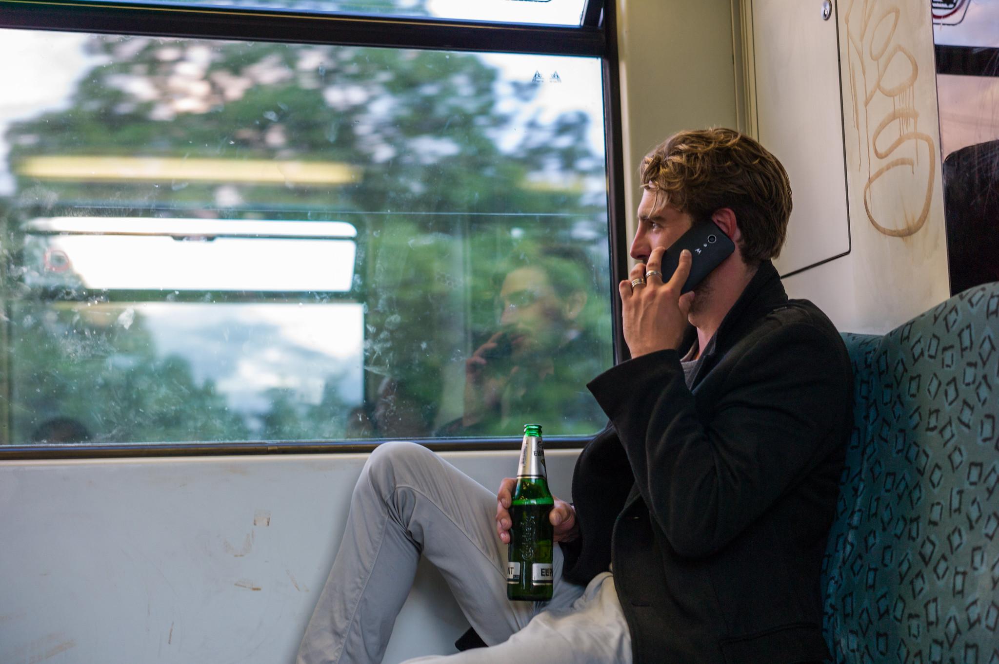 People in Berlin are always DRUNK!