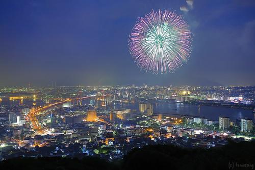Kukinoumi Fireworks Festival 2015