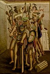 La cohorte invincible (1928) - Giorgio de Chirico (1888-1978)