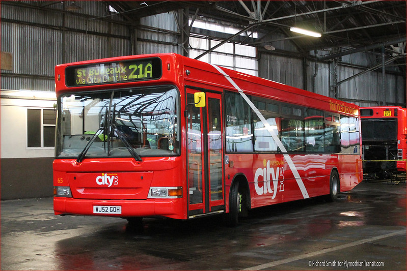 Plymouth Citybus 65 WJ52GOH