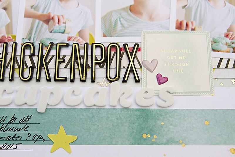 Alex Gadji - Chickenpox cupcakes closeup3