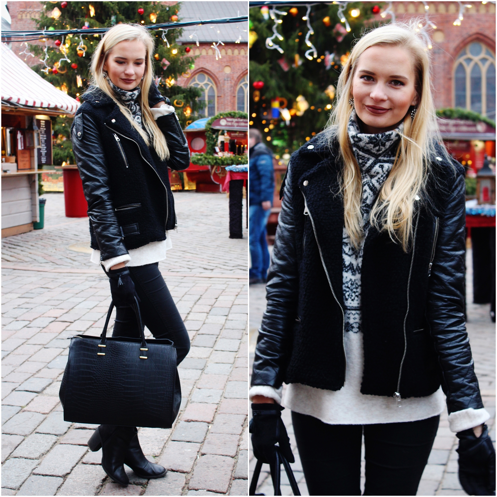 Winter outfit in Riga