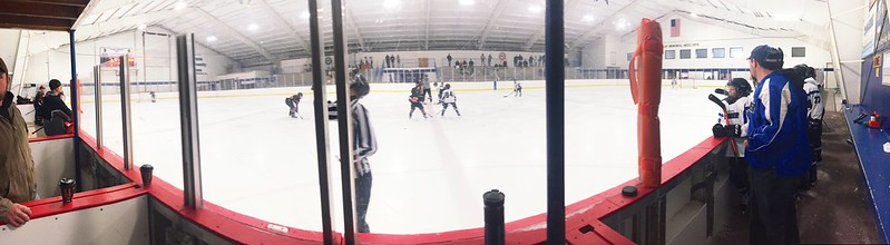 351/365. the view from the penalty box during a tough game.