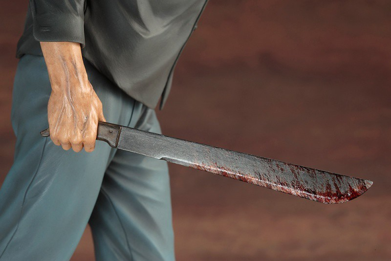 壽屋 ARTFX【面具殺人魔傑森】13 號星期五 Part 3 Jason Voorhees 1/6 比例雕像作品