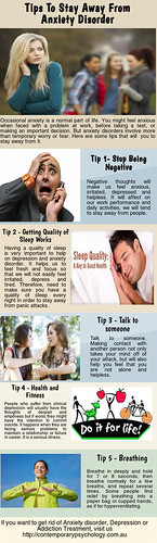 Tips to Stay Away from Anxiety Disorder