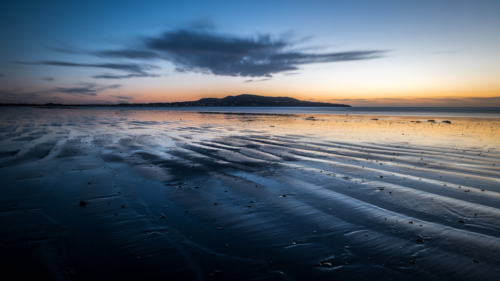 Bull Island at sunrise - Dublin, Ireland - Landscape photography
