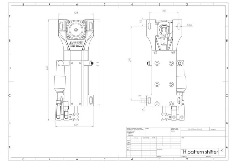 H-pattern-shifter Mounting