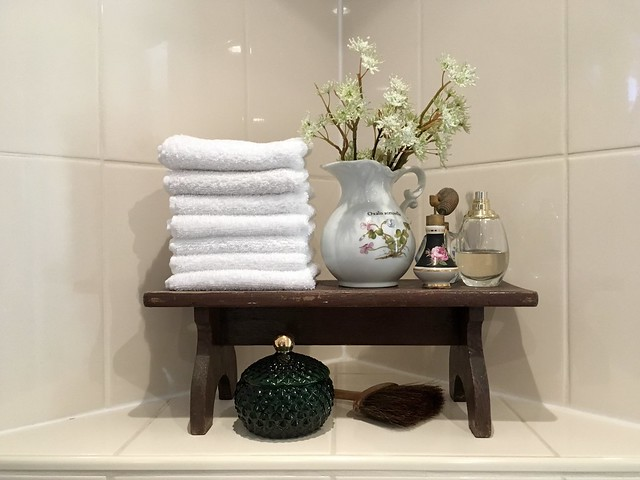 Badkamer decoratie landelijk