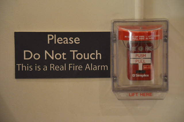 This is a Real Fire Alarm