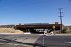 View from East Tregallas Road of the Eastbound Bridge construction replacing the old Cavallo Road Overpass.