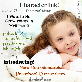 Character Ink! Newsletter no. 27