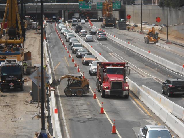 3rd Street Tunnel Project Lane Closure