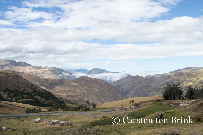 Landscape near Alausi