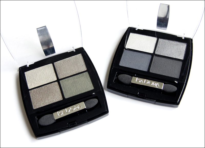 IsaDora Rock & Romance eye shadow quartets