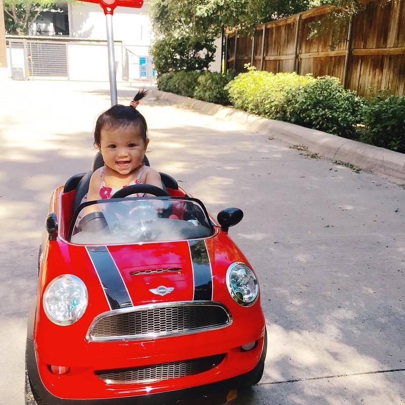 cute & little blog   kennedy mini cooper push buggy
