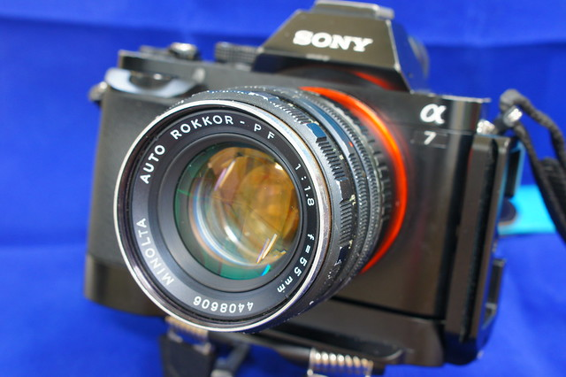 SONY α7 + MINOLTA AUTO ROKKOR-PF 55mm F1.8_02